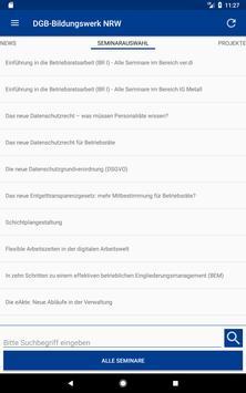 DGB-Bildungswerk NRW Seminare screenshot 20