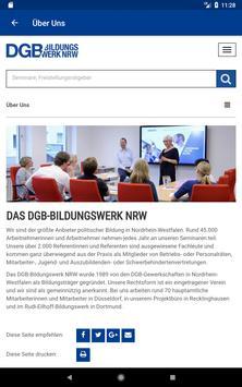 DGB-Bildungswerk NRW Seminare screenshot 22