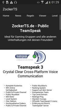 ZockerTS screenshot 1