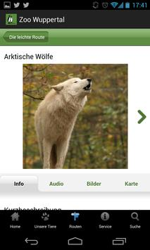 Zoo Wuppertal Mobile Guide screenshot 3