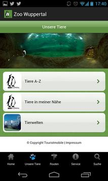 Zoo Wuppertal Mobile Guide poster