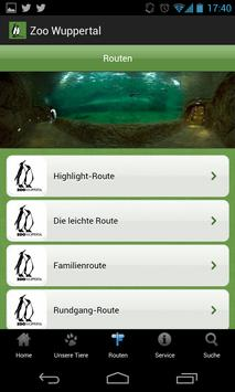 Zoo Wuppertal Mobile Guide screenshot 1