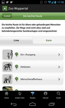Zoo Wuppertal Mobile Guide screenshot 2