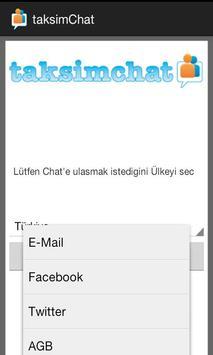 Taksim Chat apk screenshot