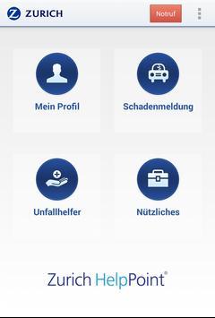 Zurich HelpPoint Deutschland poster