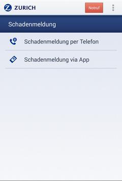 Zurich HelpPoint Deutschland screenshot 1