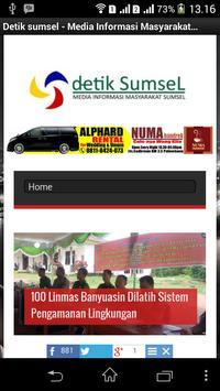 Detiksumsel.com screenshot 1