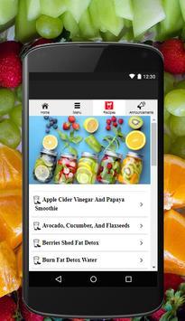 Detox Water Drinks Recipes apk screenshot