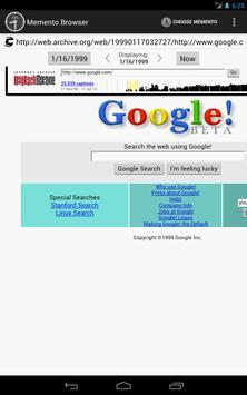 Memento Browser screenshot 3
