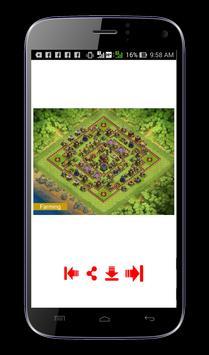Formasi Pertahanan COC screenshot 7