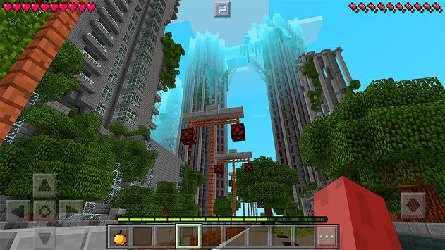 Apocalyptic City Survival Maps for Minecraft PE poster