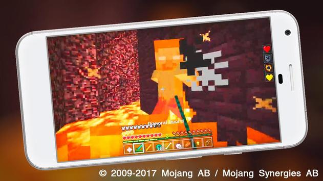 Herobrine mod Minecraft - Find Herobrine in MCPE! screenshot 1