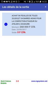 NG Caisse screenshot 5