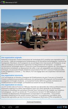 iut Nice Côte d'Azur poster