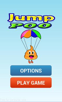 happy poo jump proo poster