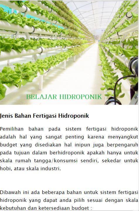 Belajar Hidroponik For Android Apk Download