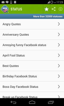 Statuses,Aphorisms and Sayings apk screenshot