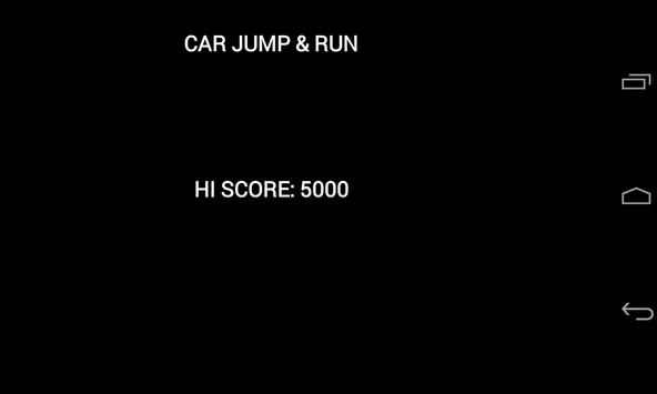 CarJumpAndRun apk screenshot