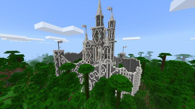 Compa Castle MCPE Map apk screenshot