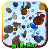 Skyblock Planet MCPE Map icon