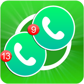 Dual Whatsapp Messenger guide for Android icon