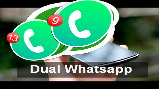 Dual Whatsapp Messenger guide for Android screenshot 2
