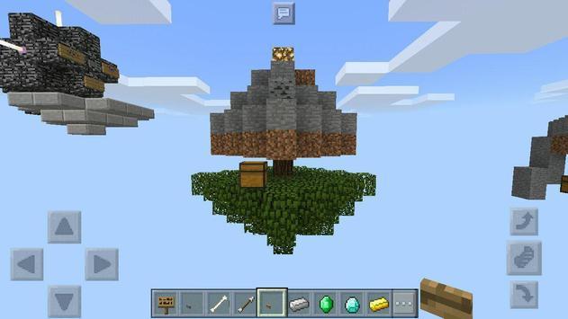 Mega Skyblock MCPE Map screenshot 1