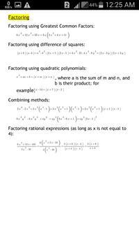 GRE Math Formula by Magoosh screenshot 4