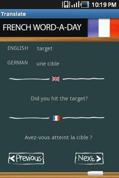 Learn French screenshot 1