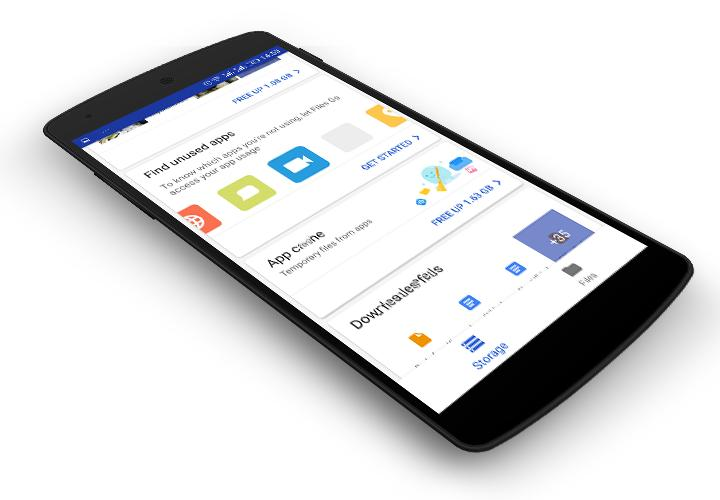 Files Go by Google: Free up space on your phone for Android