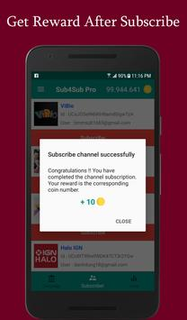 Sub4Sub Pro II For Youtube screenshot 3