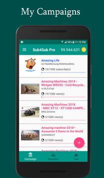 Sub4Sub Pro II For Youtube screenshot 1