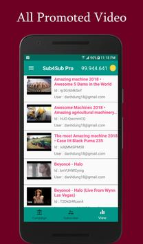 Sub4Sub Pro II For Youtube screenshot 2