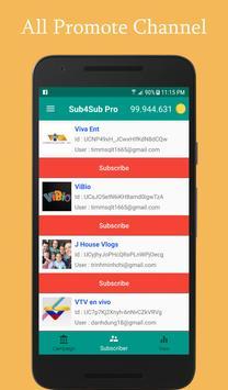 Sub4Sub Pro II For Youtube screenshot 7