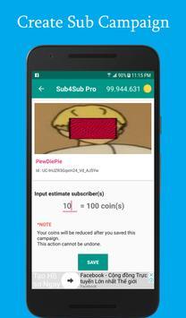 Sub4Sub Pro II For Youtube screenshot 6