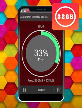 32 GB RAM Memory Booster 2019 screenshot 1