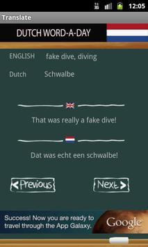 Learn Dutch screenshot 1