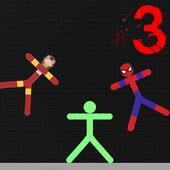 Stickman warriore vs heros icon