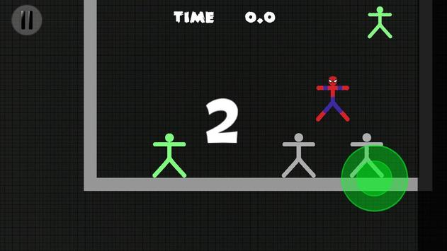 Stickman warriore vs heros apk screenshot
