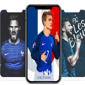 France football team wallpapers World Cup 2018 icon