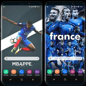 France football team wallpapers World Cup 2018 poster
