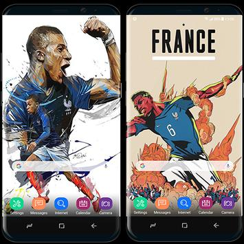 France football team wallpapers World Cup 2018 screenshot 1