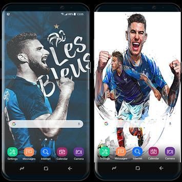 France football team wallpapers World Cup 2018 screenshot 2