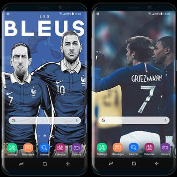France football team wallpapers World Cup 2018 screenshot 4