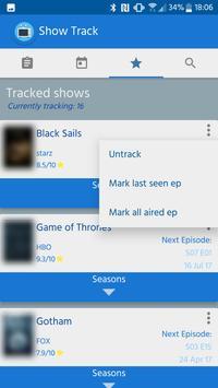 Show Track screenshot 3