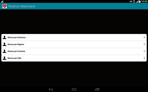 Ricerca Veterinario apk screenshot