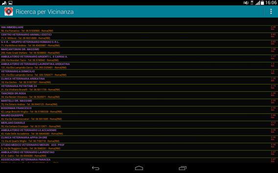 Ricerca Veterinario screenshot 7