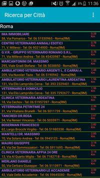 Ricerca Veterinario screenshot 2