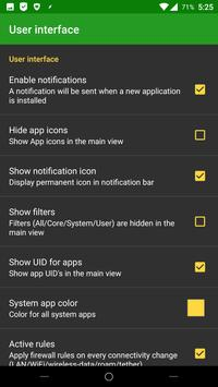 AFWall+ (Android Firewall +) apk screenshot