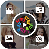 3D Video Collage Maker icon